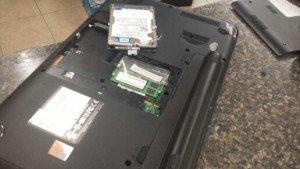 Toshiba C855D bad hard disk