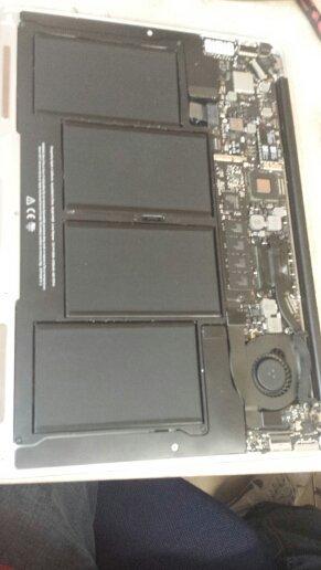 Replacing Battery Macbook Air